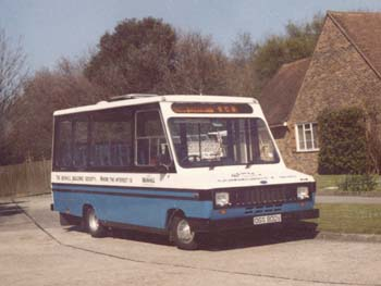 Photo of first bus